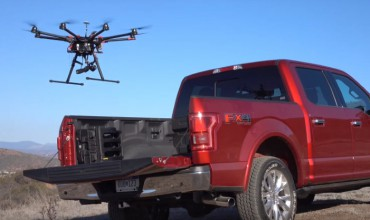 Drones Used in Combination with Self-Driving Cars