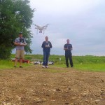 Phantom 3, Phantom 4 and Solo Fly Together