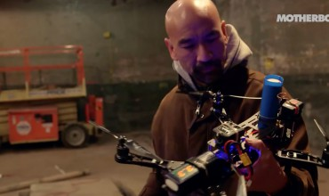 Check Out This Drone Dogfight Using Nerf Disks as Bullets