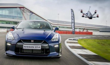 Nissan Racing Drone
