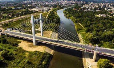 Drone Photo of BridgeScience Channel Features New Drone Show