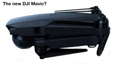 DJI Mavic Leaked Photo