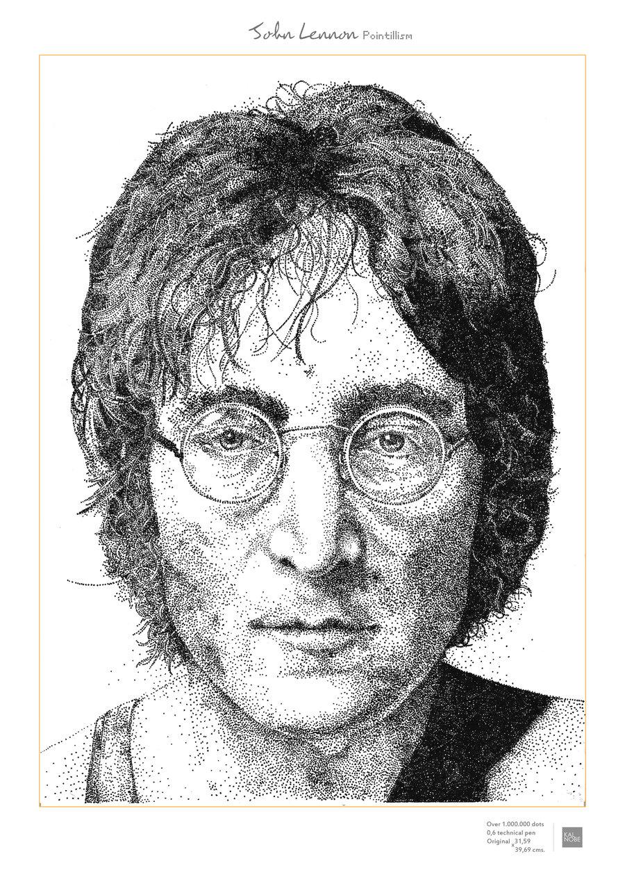 Famous Dot Painting Portraits
