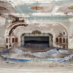 Drone Racing in Abandoned Opera House