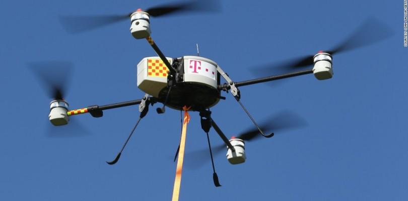 Telecommunications Drone