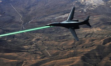Military Drone Laser