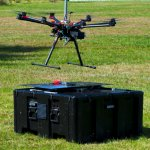 Automated Drone Battery Exchange