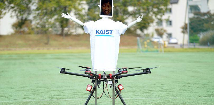 Robot Drone Man