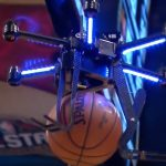 Drones Used for Basketball Dunk Contest