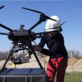 Tethered Drone Monitors Traffic Flow