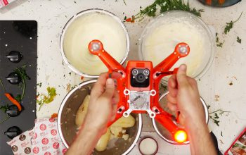 How To Cook With a Drone